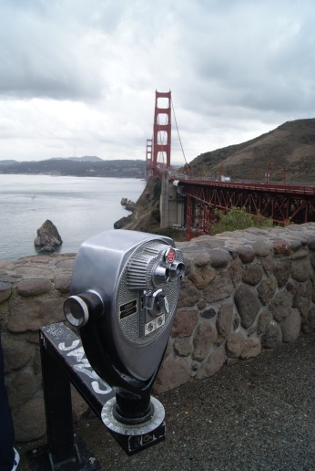 Golden Gate Bridge perspective photography by Diana Serafini