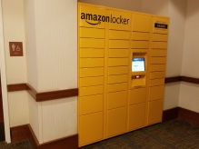 Amazon Locker photo credit Diana Serafini